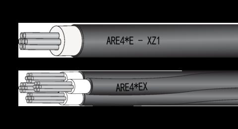 Baldassari Cavi: cavo ARE4*E-XZ1 – ARE4*EX