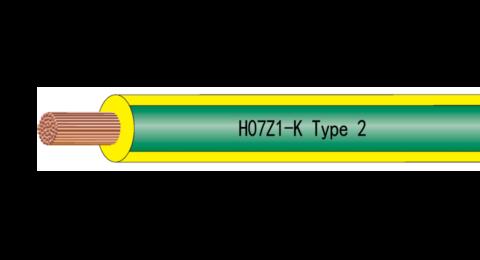 Baldassari Cavi: cavo H07Z1-K Type 2