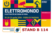 Baldassari Cavi News: ELETTROMONDO 2018