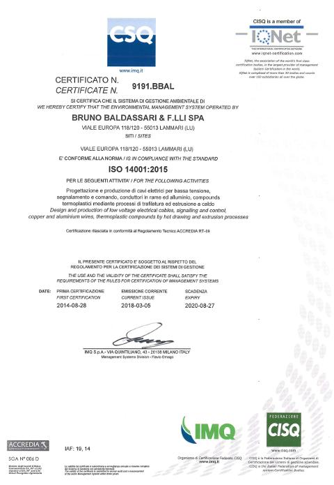 Baldassari Cavi: Anteprima documento