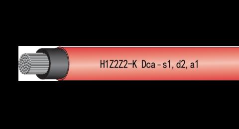 Baldassari Cavi: cavo H1Z2Z2-K  Dca-s1,d2,a1