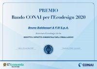 "Baldassari Cavi News: Premio ""bando CONAI per l' ecodesign 2020"""